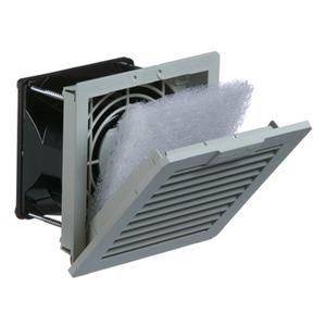 PF 11.000 230V AC IP54 RAL7035, 4. Gen.-Filterlüfter 25 m³/h PF 11.000 230V AC IP54 RAL7035