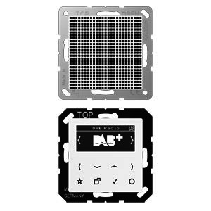 DAB A1 WW, Smart Radio DAB+, Set Mono, Serie AS/A, alpinweiß