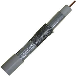 HCOAX 111 250SB, SAT Koaxialkabel 110dB, dreifach geschirmt, 250m Einweg Abrollbox, mit verklebter 1. Folie