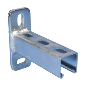 KA25H0150EG, Strutmontageschiene-Konsole Typ A, genutet, Stahl, EG, 150 mm x 41 mm x 41 mm x
