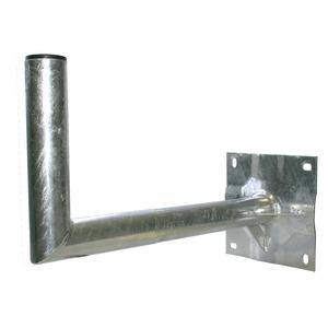 HWAH40-B, Wandhalter Stahl mit Kunststoffkappe, 40cm