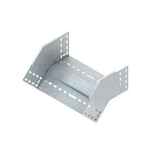 RFB 110.200, Rinnenfallbogen 45°, 110x202 mm, mit ungelochten Seitenholmen, Stahl, bandverzinkt DIN EN 10346, inkl. Zubehör