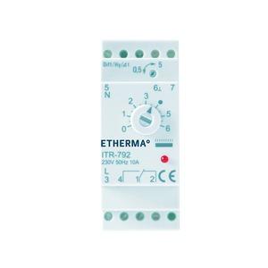 ITR-79-2, Verteilereinbauregler für Hutschienenmontage, 0 - 60 °C, 10 A