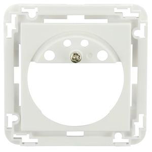 Zentralplatte Indoor 180 verkehrsweiß matt, ähnli, Zentralplatte zum Einbau eines Sensoreinsatzes Indoor 180 in ein entsprechendes Schaltermodul