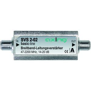 Breitband-Leitungsverstärker, 14-20 dB, 47-2200 MHz, 6 dB Entzerrung