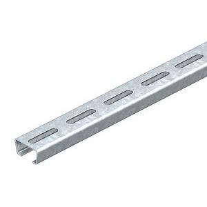AML3518P2000FS, Profilschiene gelocht, 2068/SL2M, Schlitzweite 16,5mm 2000x35x18, 1119648