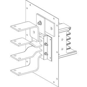 KSA Zubehör, Flanschplatte mit 2 Zugentlastungen für KSA630ABG/D4