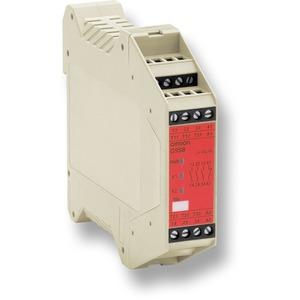 G9SB-3010 DC24, Sicherheitsmodul, 3 Schließer + 1 Öffner, automatische Rücksetzung, Kat.3 Direktabschaltung