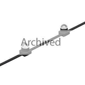 BGC482 50 3000K TSDM12 BK, 3000 K - 50 x - Opale Kuppel 30 cm - Schwarz - Farbe: Schwarz