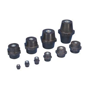 ISOTP50M10, ISO-TP Niederspannungsisolatoren, metrisches Gewinde, 50 mm, 50 mm Sechskant-Bre