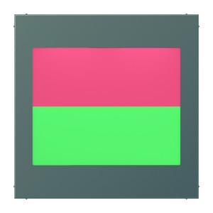 AL 2539-2 AN LEDRG, LED-Lichtsignal Ampelfunktion, Anzeige: geteilt, oben rot, unten grün