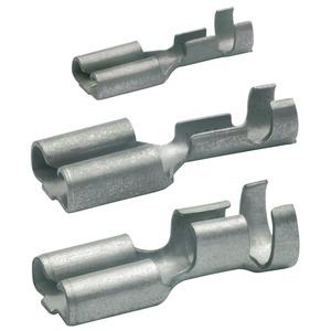 Flachsteckhülse nicht-isoliert, 2,8x0,8 mm, 0,5-1 mm², CuZn verzinnt