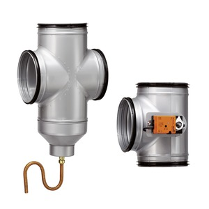 LEWT-S+F, Luft-Erdwärmetauscher Steuerung und Rohr-Formteile
