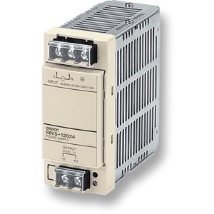 S8VS-12024, Schaltnetzteil, 120 W, 100 bis 240 VAC Eingang, 24 VDC, 5 A Ausgang, DIN-Schienenmontage, Basismodell
