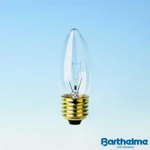 Kerzenlampe E27 klar 230V 15W