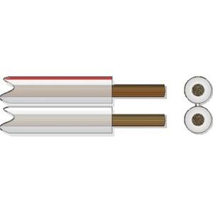 LS 2x2,5 transparent, Lautsprecherkabel (Drähte 0,20)    T500