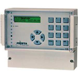 Signalhauptuhr 12/24 V, ohne Gangreserve-Akku, 2 NU-Linien, 4 pot.-freie Kontakte