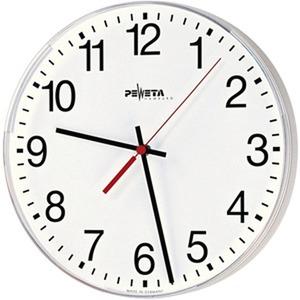 Nebenuhr 12-60 V für innen, Ø 415 mm, Zifferblatt weiß, arabische Zahlen