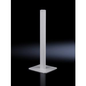 CP 6112.500, Standsäule, klein, Bodenplatte BHT 500x12x500 mm, Belastung 80kg