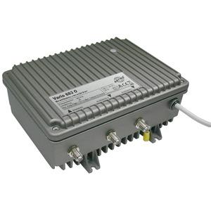 VARIO 683 O, Modularer Breitbandverstärker ortsgespeist, mit optionalem 33 oder 65 MHz Rückweg, Verstärkung Vorweg 40 dB, Ausgangspegel Vorweg 113 dBµV, Verstärkun
