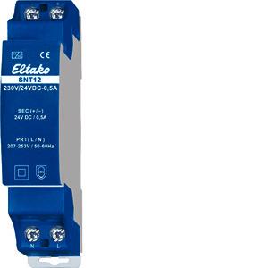 SNT12-230V/24VDC-0,5A, Schaltnetzteil 230V/24V DC-0.5A
