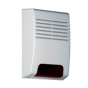 8000A/2, Funk-Außensirene mit Blitzlicht OHNE BATTERIE, drahtlos 112 dB / 1m  System 8000