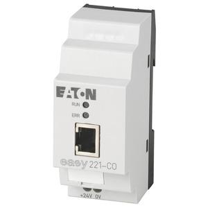 EASY221-CO, Busmodul, CANopen, 24VDC, adressierbar 1-127, easyLink