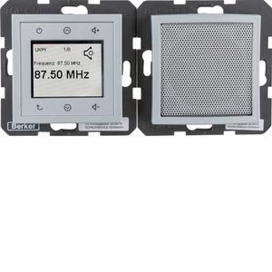 Radio Touch und Lautsprecher B.7 alu