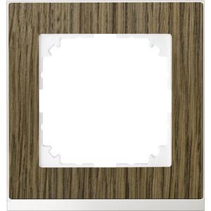 M-Pure Decor-Rahmen, 1fach, Eiche/aktivweiß, M-Pure Decor