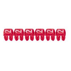 CAB 3 Kabelkennzeichnungssystem Ziffer 1 , Farbe braun Leiterquerschnitt 1,5 - 2,5 mm² Gemäß EN 60 062