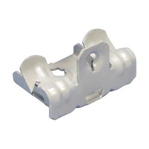 EM24, Flanschklipp zum Aufschlagen, Montage an der Unterseite, Federstahl, 3–8 mm (1/8–1/4) Flansch