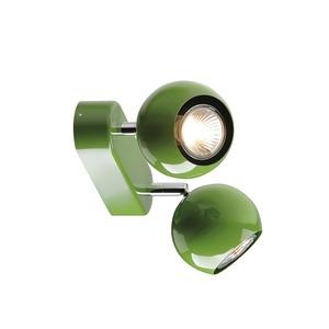 LIGHT EYE 2 GU10 Wand- und Deckenleuchte, farngrün, GU10, max. 2x50W