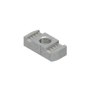 GMZ M8 F, Gleitmutter, Gewinde M8, für Schlitzweiten 18 mm, 22 mm, 26 mm, Stahl, feuerverzinkt DIN EN ISO 10684