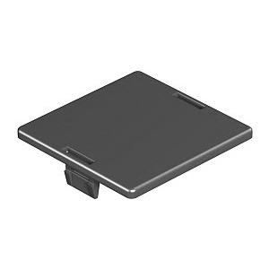 LP R, Leerplatzabdeckung für runde Öffnung, PA, graphitschwarz, RAL 9011
