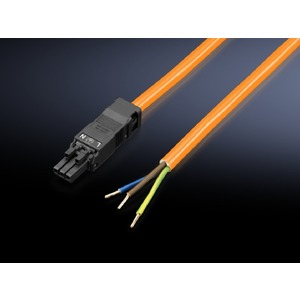SZ 2500.500, Anschlussleitung für Einspeisung, 3-polig, 100-240 V, L: 3000 mm, UL