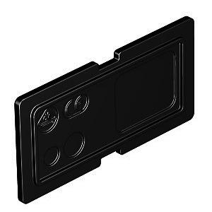 GB23 TW, Trennsteg für Gerätebecher, PA, graphitschwarz, RAL 9011