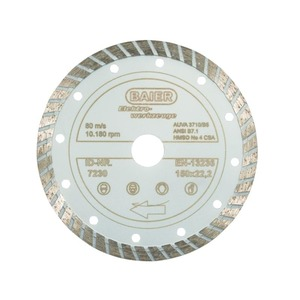 Diamantscheibe Turbo (All)Round 150 x 22,2 mm