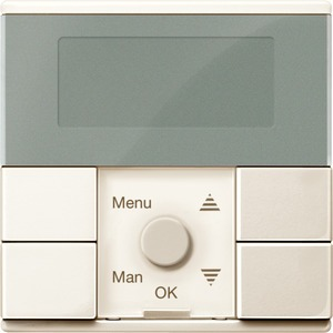 Zeitschaltuhr-Modul Standard, weiß glänzend, System M