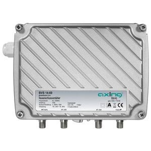 Hausanschlussverstärker, 40 dB, 1006 MHz, Rückkanal aktiv 5-65 MHz, Ortsspeisung