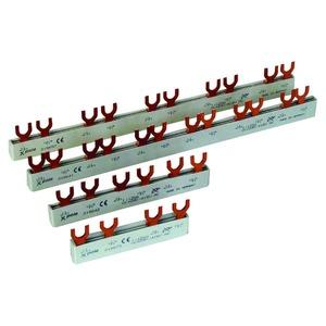 EVG-16/3PHAS/12MODUL/HI, Phasenschiene, 3Ph, 16qmm, Gabel, 13,5TE