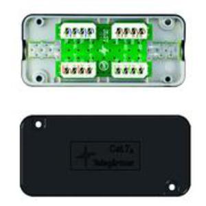 J00060A0069, Einfach-Verbindungsmodul Cat.7A(IEC) schwarz