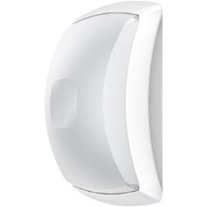 ATOLL CFL 2X18W WE, Wand- und Deckenleuchte Atoll CFL 2x18W Weiß aus Polycarbonat, IP54, IK10, Schutzklasse II