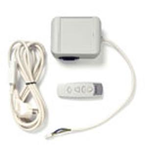 Plug & Play mit Empfänger, 4-Kanal Handsender, Netzanschlusskabel mit Schukostecker im Lieferumfang, Reichweite bis 30 m