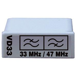 VD 33, Diplexfilter 5 - 33 MHz (Paar), zur Rückwegkonfiguration der Vario …-Verstärker