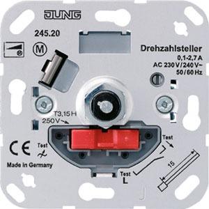 245.20, Drehdimmer LED mit Dreh-Ausschalter