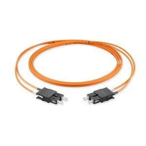 Zipcord; Diam 2,9 mm; Fibre count 2F; Cable jacket: FRNC - ClearCurve OM2 Pr; Connectors: -SC Duplex MM/ -SC Duplex MM; Length 3.0 M