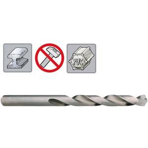 302 301 000, HSS Spiralbohrer DIN 338 Split Point, geschliffen mit Kreuzanschliff mit Zylinderschaft, (1 Stück in SB-Tasche) 10 x 133 mm