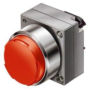 3SB3500-0BA21, Drucktaster, 22mm, rund rot