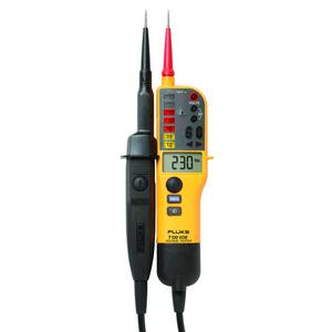 FLUKE-T130/VDE, SPANNUNGS-/DURCHGANGSPRÜFER MIT LCD, ZUSCHALTBARER LAST (VDE-VERSION)