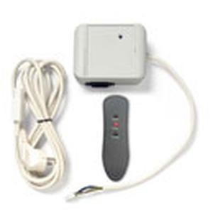 Plug & Play mit Empfänger, Handsender, Netzanschlusskabel mit Schukostecker im Lieferumfang, Reichweite bis 7 m